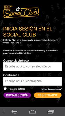 Hay que iniciar sesión en el club social de Rockstar para usar la aplicación iFruit