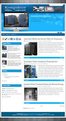 Kontraktor Water Treatment