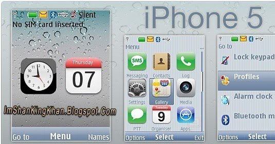 578kb Apple Iphone 5 Theme For Nokia X2 Free Download Here