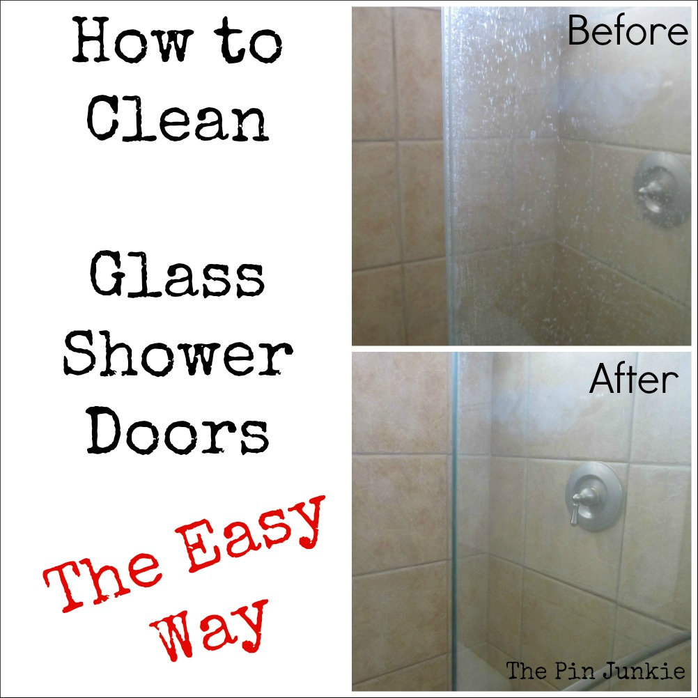 Cleaning bathroom shower doors how to clean glass shower doors the easy way planetlyrics Image collections