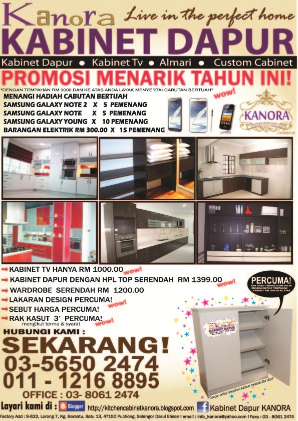 Kitchen Cabinet Kanora