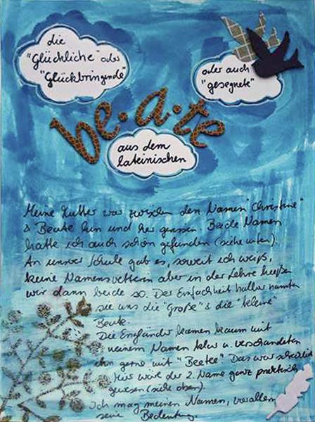 Projekt ICH | Scrapbook Album über mich | www.danipeuss.de
