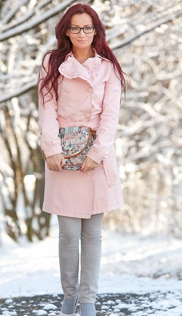 Moda si moda elegante en plomo y palo rosa for Color plomo