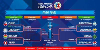Vive la emoción Copa América 2015