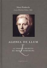 Agonia de llum, la poesia secreta de Mercè Rodoreda