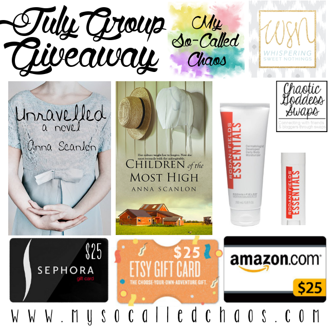 Goodbye July Group Giveaway