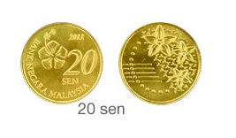 Commemorative Coin for Malaysia's New Third Coins Series (2011)
