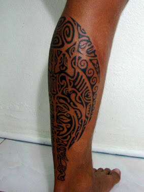 french polynesian tattoo