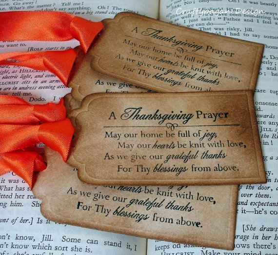 A Thanksgiving Prayer More Than Sayings