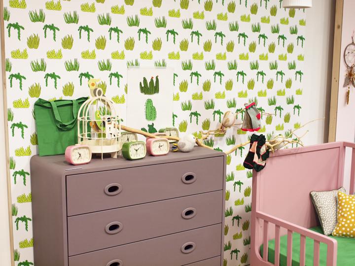 meubles pour chambre d'enfant lit et commode Laurette