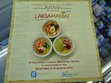 My handmade miniature clay food: Laksa for Mr S R Nanthan
