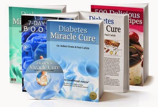 Diabetes Miracle Cure plus 2 Bonus