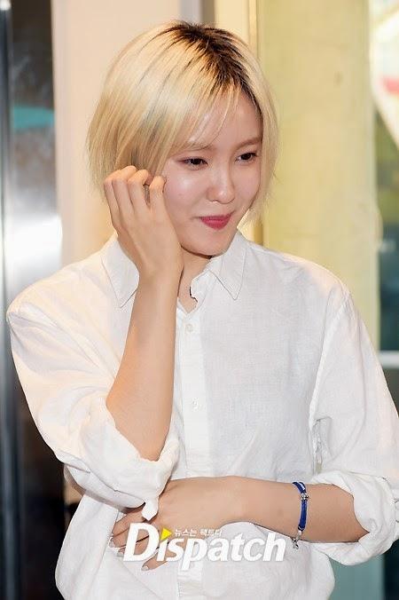 Hyomin tại buổi ký tặng ở Tom N Toms Cafe