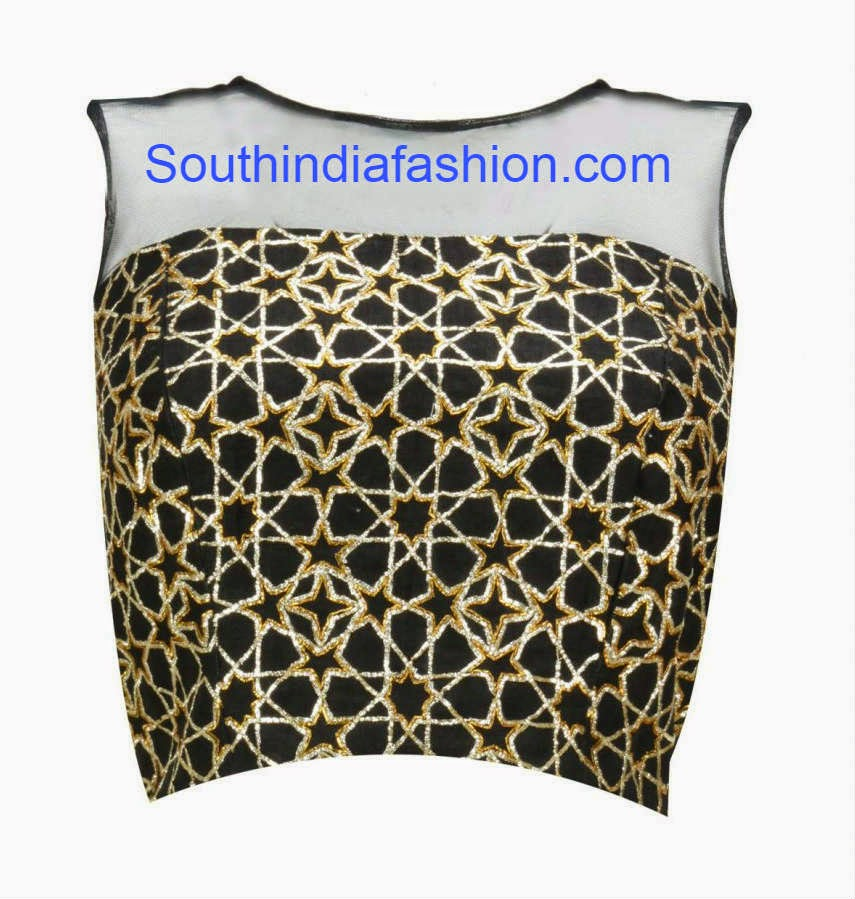 net blouse designs