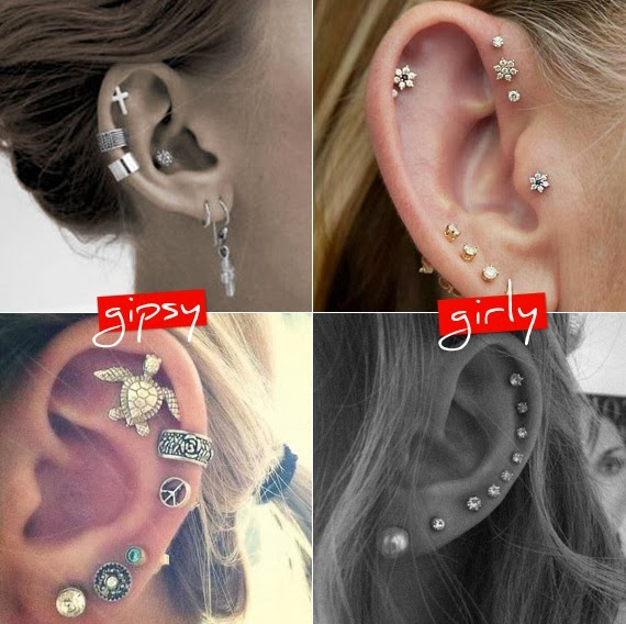Glam and Fashion: Ear bling!