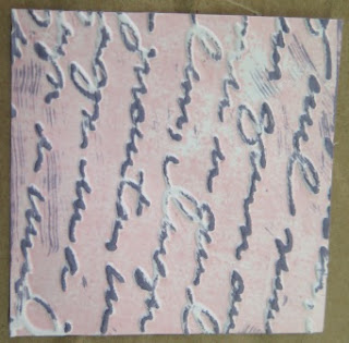 Samples of embossing  Zena Kennedy independent Stampin Up demonstrator,