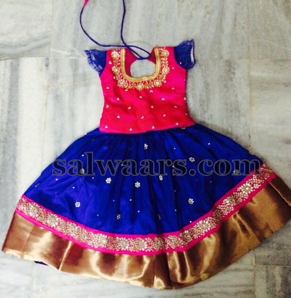 Pure Silk Lehenga Available for 6 Years