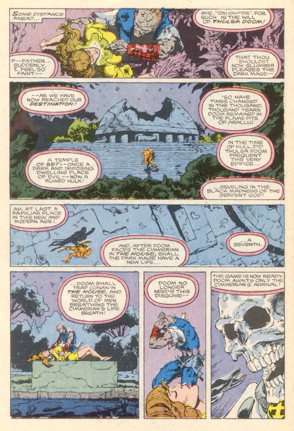 Conan the Barbarian (1970) Issue #203 #215 - English 13