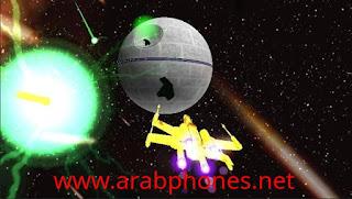 لعبة سفن الفضاء X-Wing Flight مهكرة للاندرويد مجانا