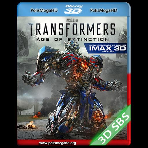 TRANSFORMERS: LA ERA DE LA EXTINCIÓN (2014) FULL 3D HOU 1080P HD MKV ESPAÑOL LATINO