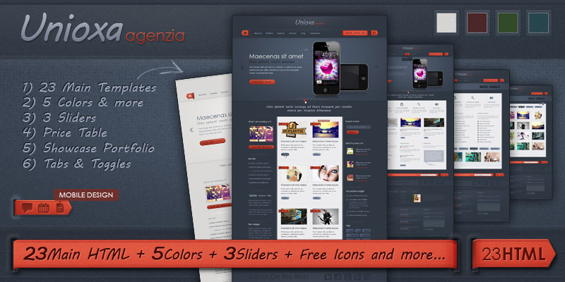 Unioxa-HTML-Template-Portfolio-Agency-Business