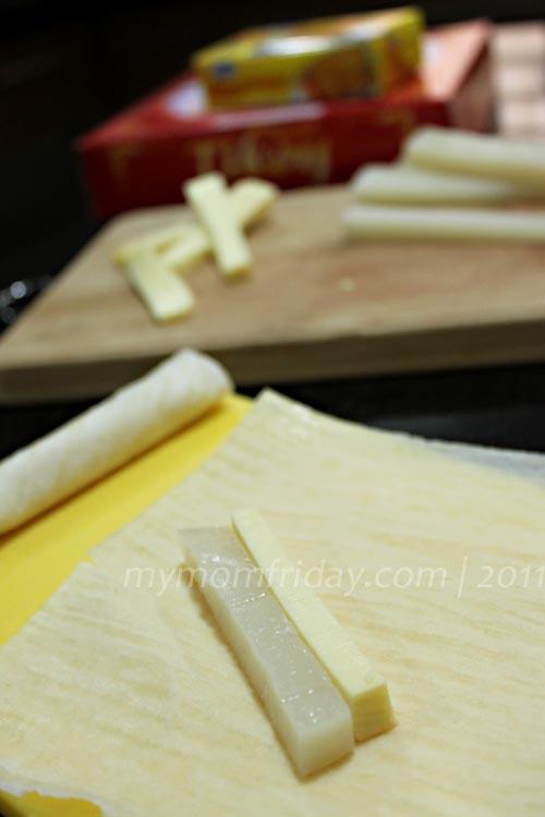 My Mom Friday Mom Friday S Lumpiang Cheekoy Tikoy Cheese
