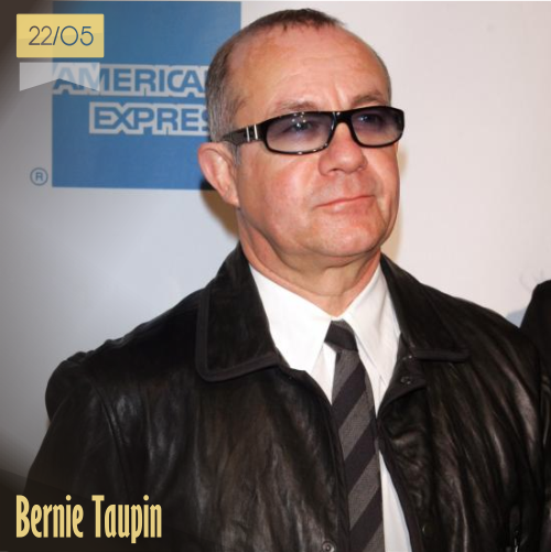 22 de mayo | Bernie Taupin - @bernietaupin_ | Info + vídeos