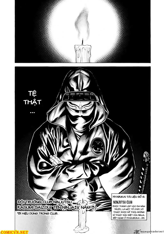Karate Shoukoushi Kohinata Minoru chap 67 Trang 14