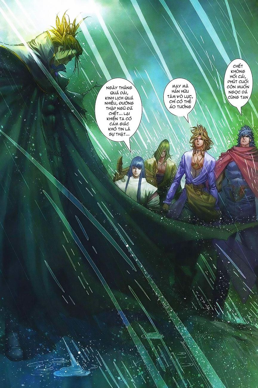 Tứ Đại Danh Bổ chap 371 – End Trang 24 - Mangak.info