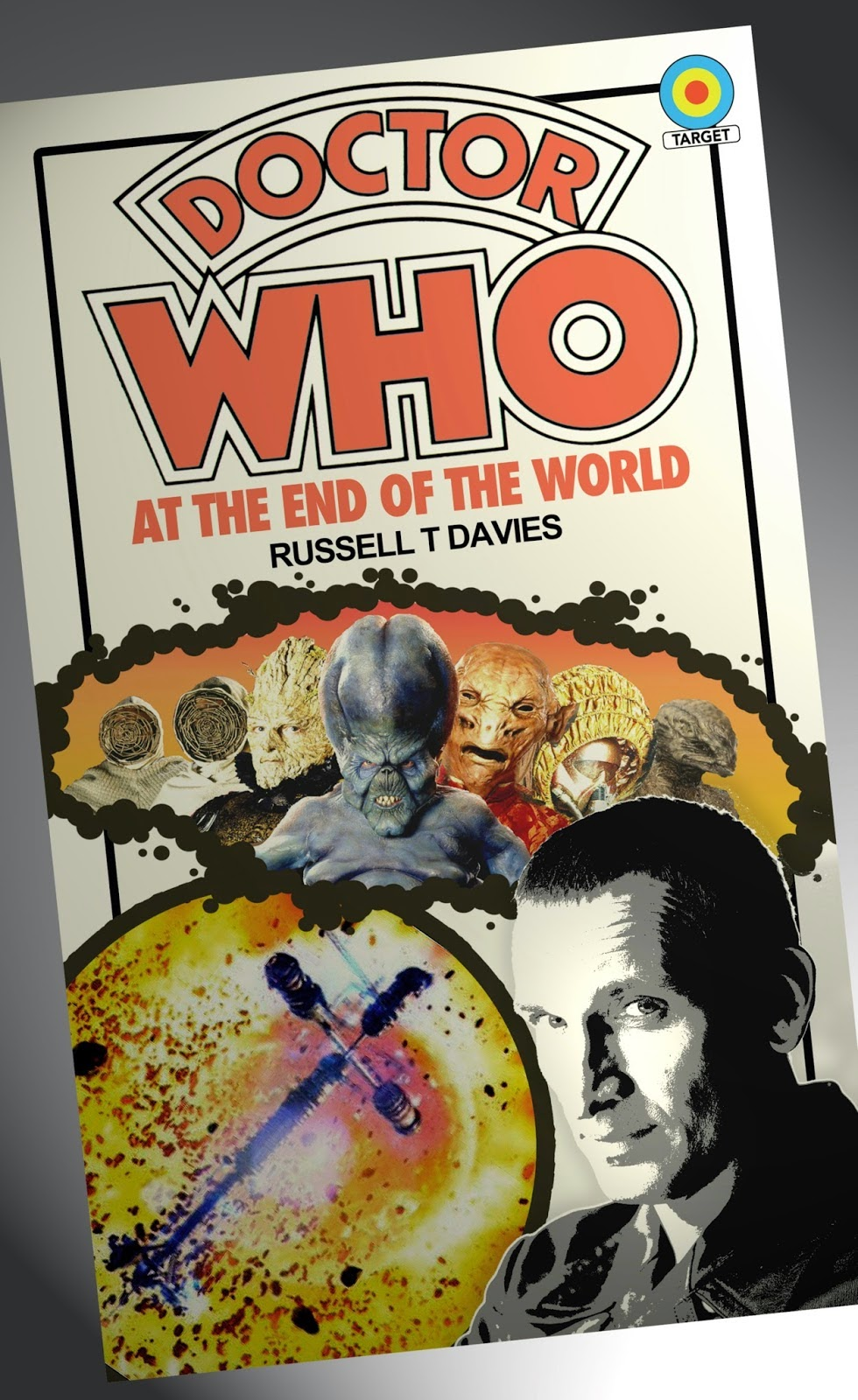 Book Covering Contact Target : Andydrewz s pages the complete new doctor who target books