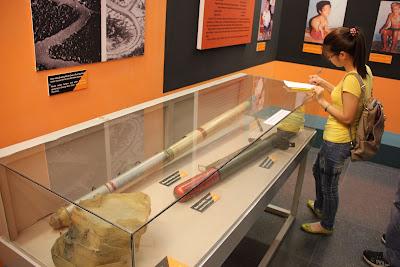 Exposicion de la Guerra en el museo de Saigon