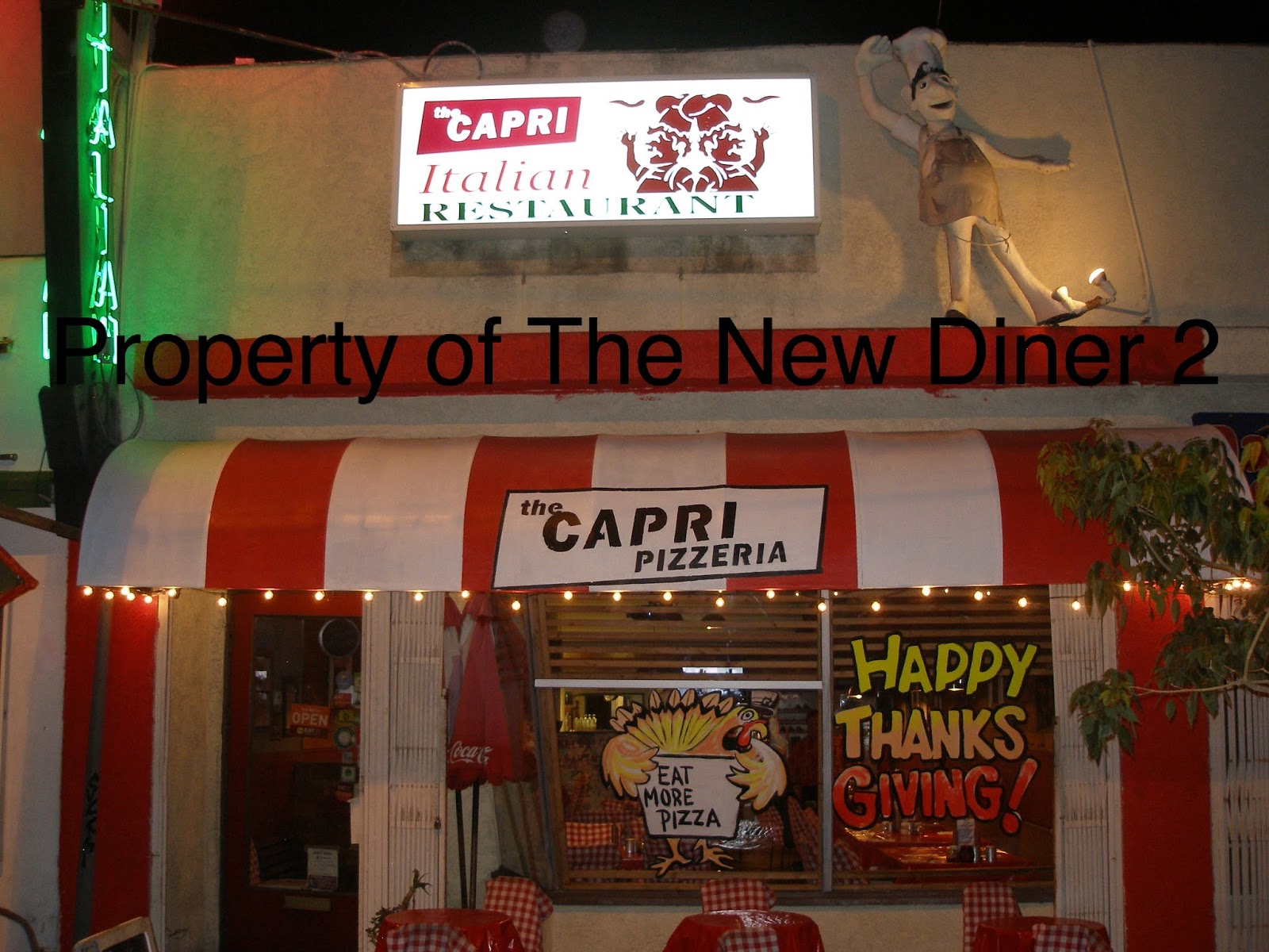 the new diner 2: the capri-updated review