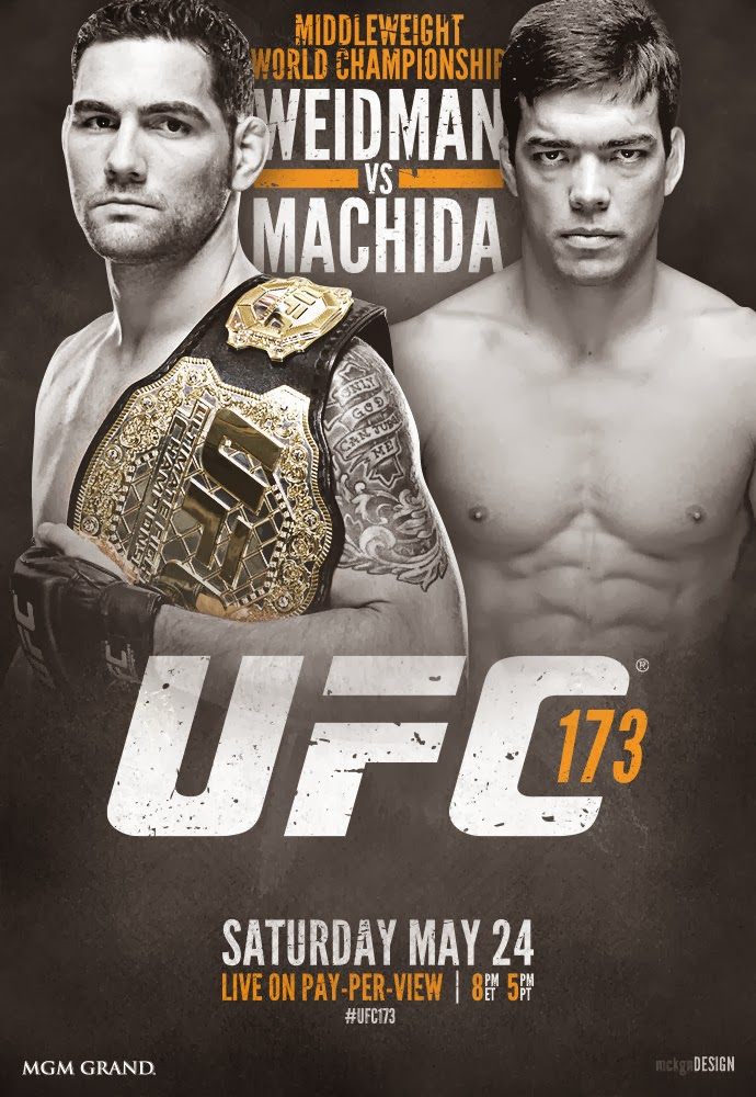 Comprar Ingressos UFC 173 Chris Weidman e Lyoto Machida