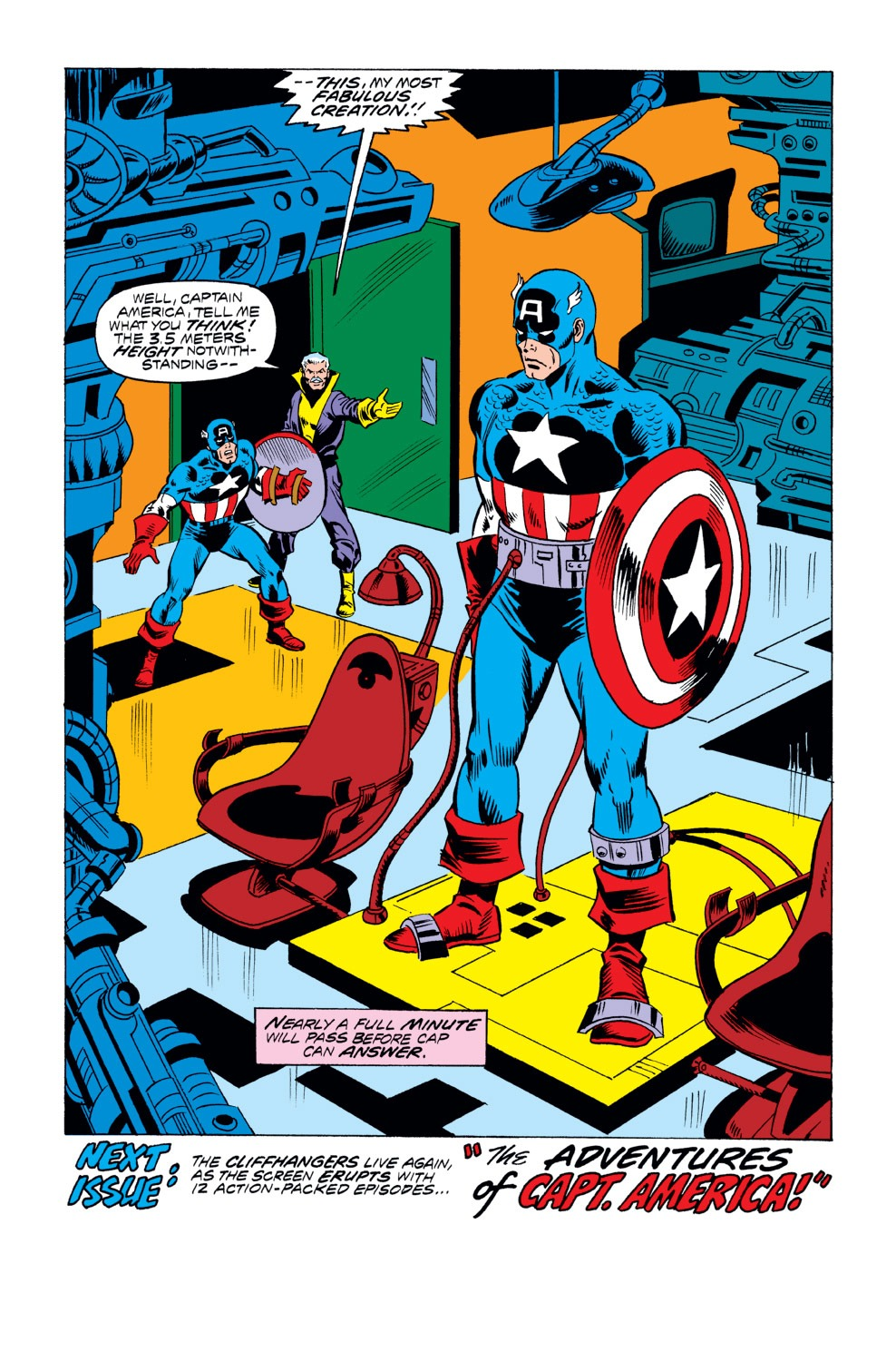 Captain America (1968) Issue #218 #132 - English 18