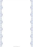 Оформления листа для поздравления