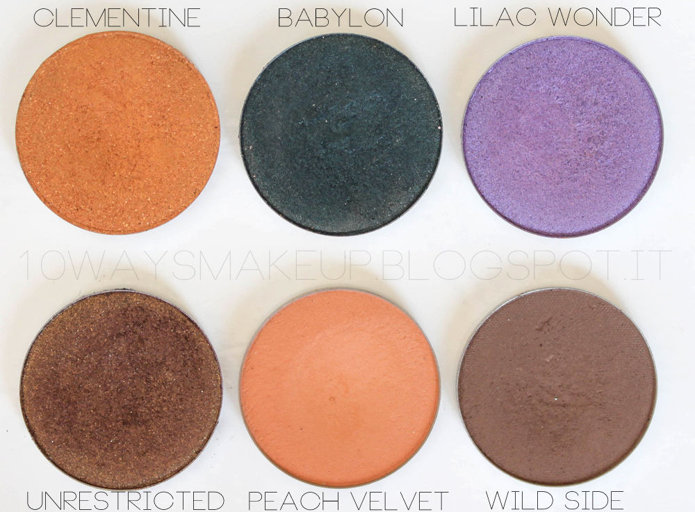 Nabla Butterfly Valley eyeshadow ombretti swatch