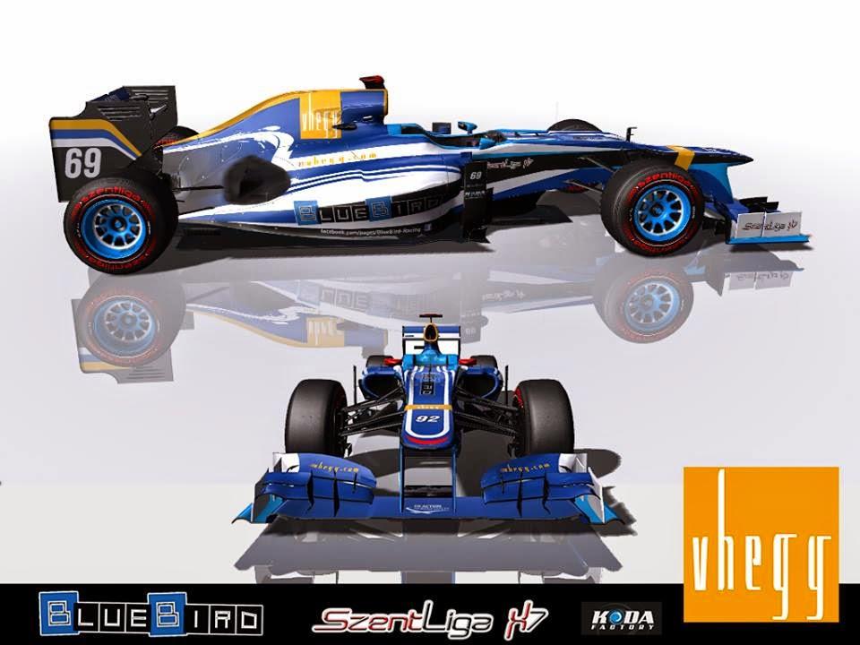 BlueBird Racing, Formula-1 Szentliga, Szentliga, F1, szimulátorbajnokság,