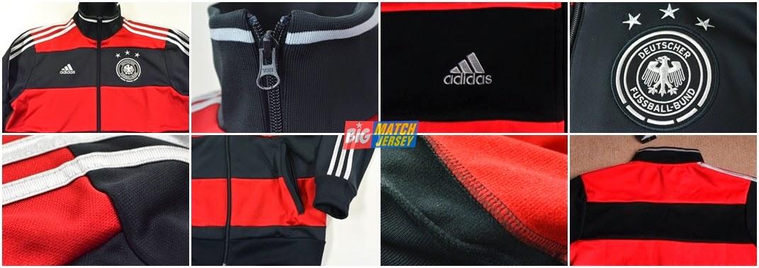 Detail Jaket Bola Online Terpercaya Dan Bergaransi Untuk Jaket Jerman Away Piala Dunia 2014