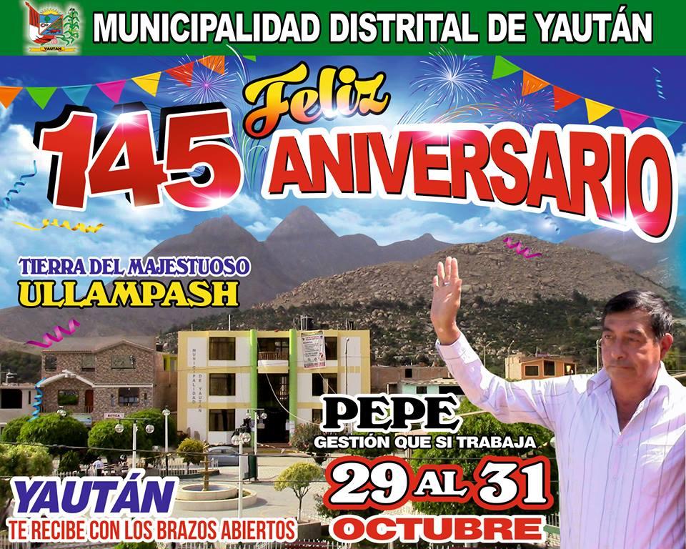 145 ANIVERSARIO DE YAUTAN