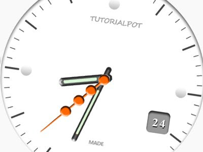 CSS3 and jQuery Clock