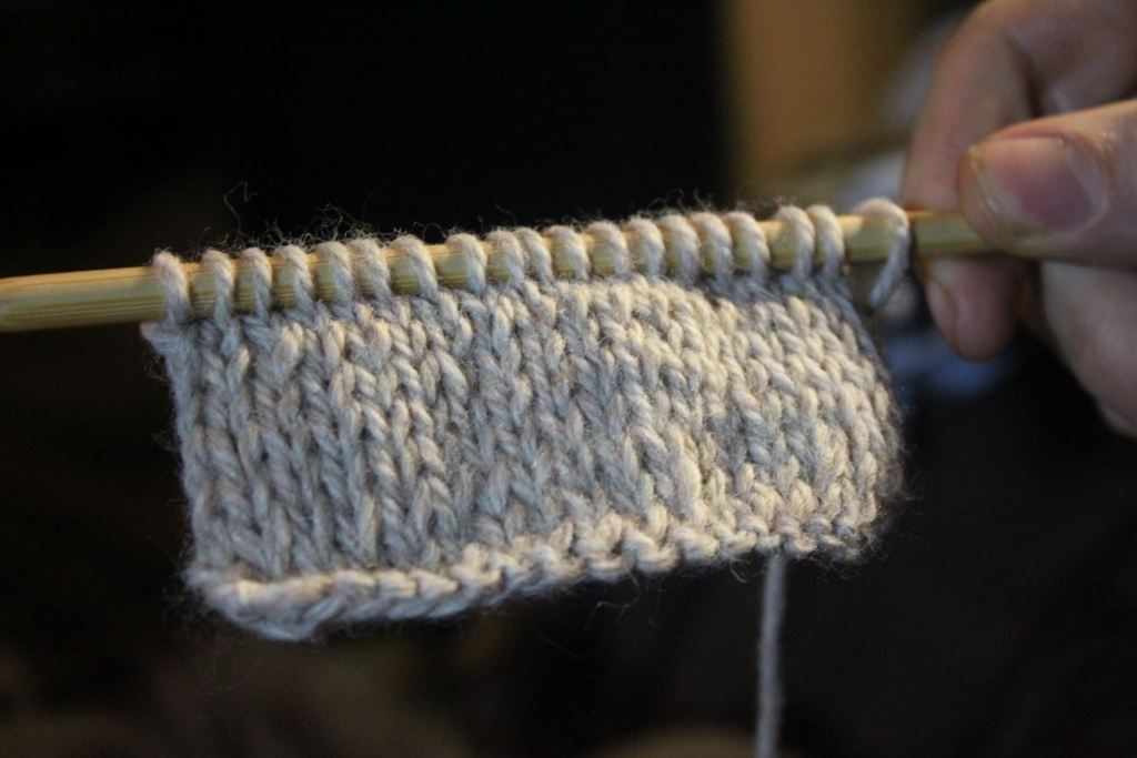 School of the Renaissance Artisan: Sick Day: Elizabethan Knitting, Part Three.