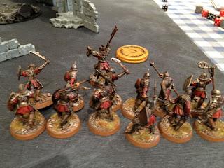 Hobbit SBG - Morannon Captain and warband
