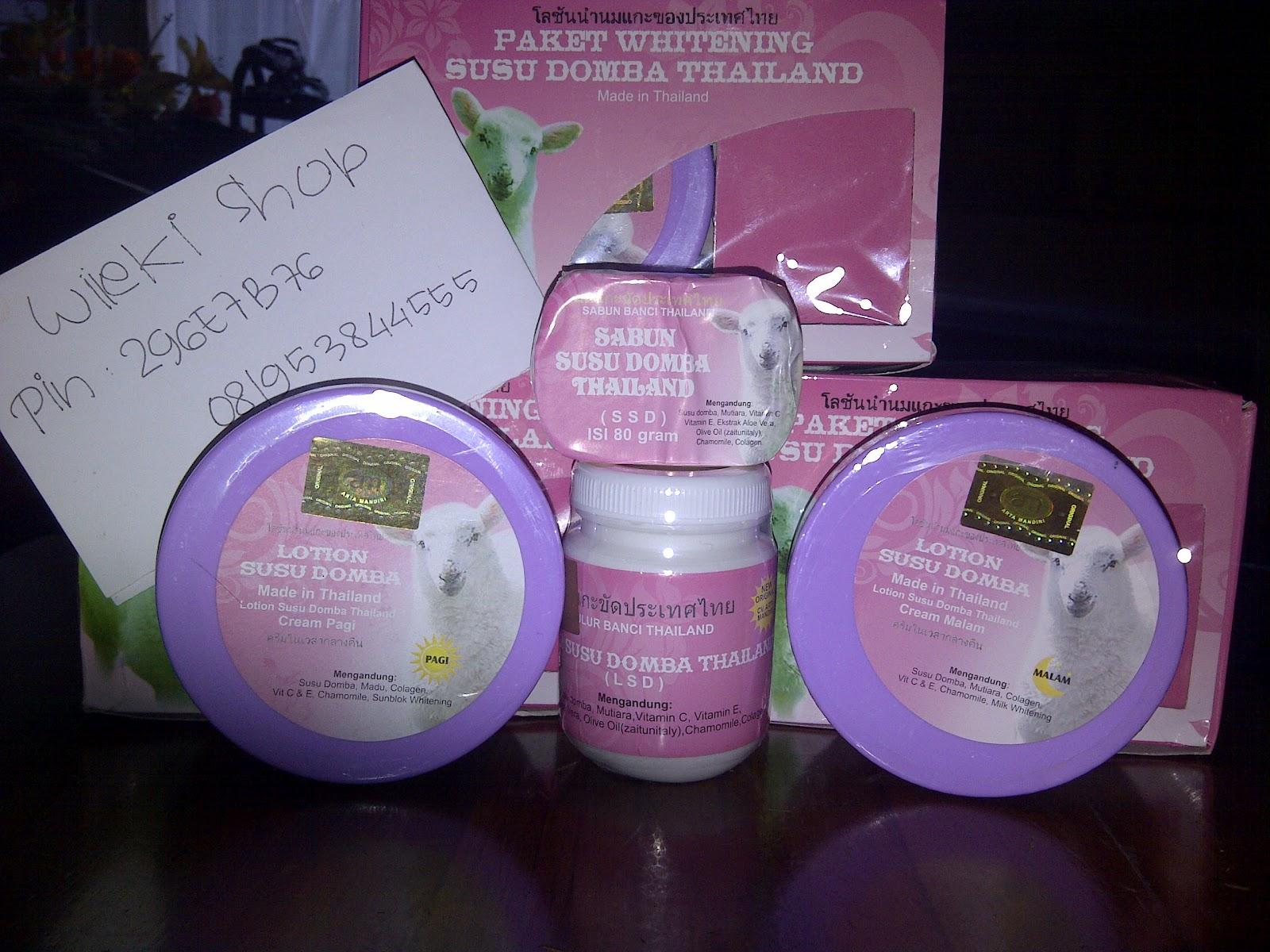 Face N Body Care Cream Susu Domba Psd Paket