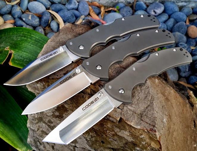 Couteau avec manche en aluminium Cold Steel Code 4