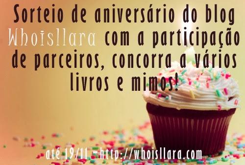 Promoção de aniversário - 01 ano Whoisllara