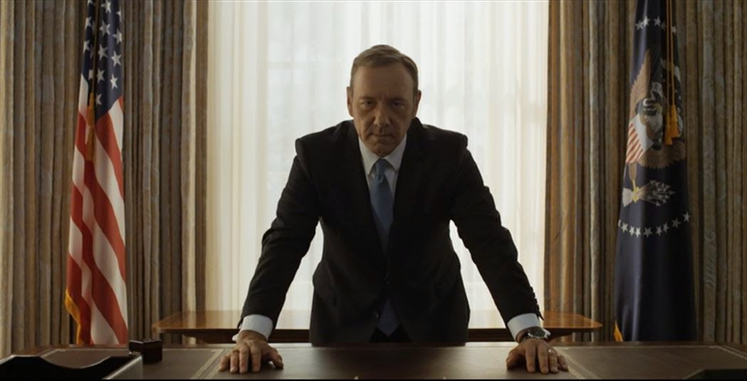 Frank Underwood becomes President of the United States