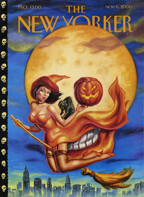 New Yorker Cover Halloween