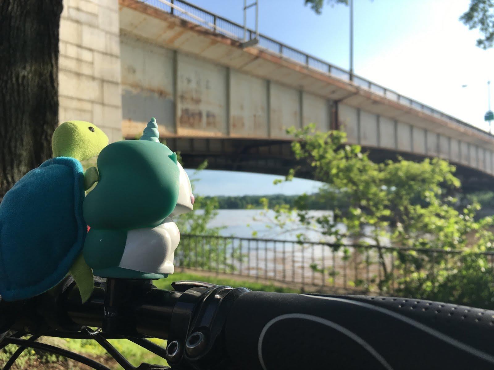 Karyn et Franklin devant la Potomac River
