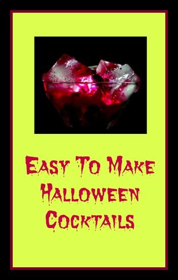 Random Musings Easy To Make Halloween Cocktails