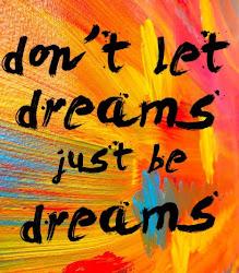 No dejes que los sueños sean sueños